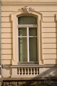 Вул. Коперника, 15. Одне з вікон 1-го поверху
