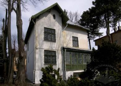 Вул. І. Труша, 28. Вид на тильний (південний) фасад