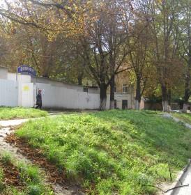 Вул. Сянська. Місце, де розташовувалася синагога.