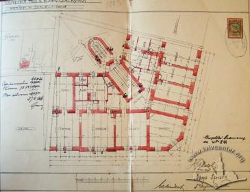 1st (ground) floor plan