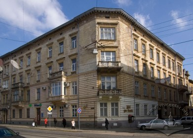 Vul. Bohomoltsia, 1. An overall view of the building