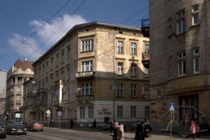 Vul. Bohomoltsia, 1. A view from Franka str.