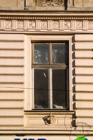 Vul. Bohomoltsia, 1. One of the 2nd floor windows