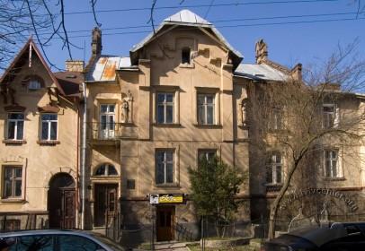 Вул. Кольберга, 6. Вид на головний фасад