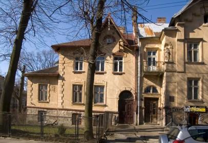 Вул. Кольберга, 8. Вид на головний фасад