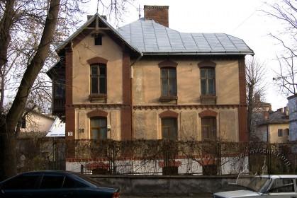 Вул. Нечуя-Левицького, 20. Південно-західний фасад