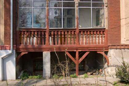Вул. Нечуя-Левицького, 20. Фрагмент південно-східного фасаду