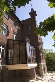 Вул. Котляревського, 47. Фрагмент будинку (вигляд з заходу)