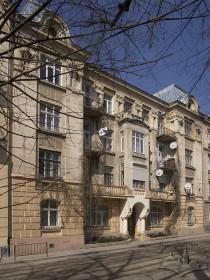 Вул. Генерала Чупринки, 6. Головний фасад (вигляд з півдня)