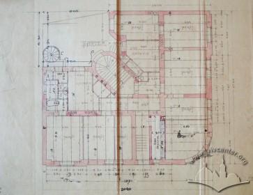 Проект будинку. План партерного поверху
