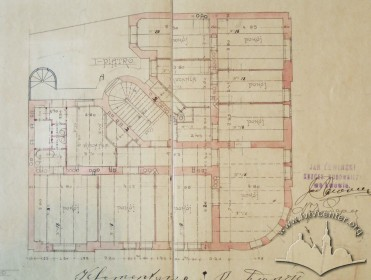 Проект будинку. План 2-го поверху