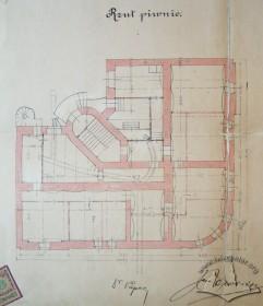 Проект будинку. План пивниць