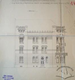 Проект будинку. Головний фасад