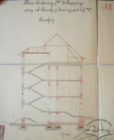 Проект будинку. Поперечний розріз