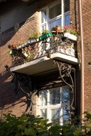 Вул. Котляревського, 41. Балкон на головному фасаді