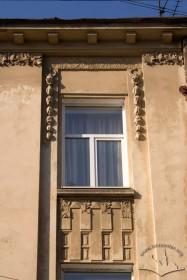 Вул. Нечуя-Левицького, 15. Вікно 3-го поверху