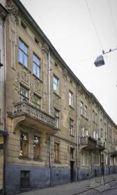 Вул. Нечуя-Левицького, 17. Головний фасад