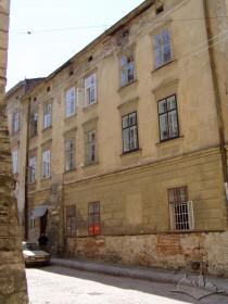 Вул. Ів. Федорова, 2. Фасад з боку вул. Федорова