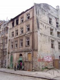 Вул. Федорова, 28. Вигляд руїн будинку з північно-східного боку