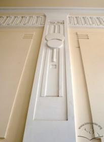 Вул. Академіка Богомольця, 6. Фрагмент стінового декору у сінях
