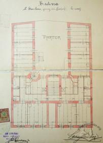 План 1-го пов. (оригінальний проект 1905 р.)