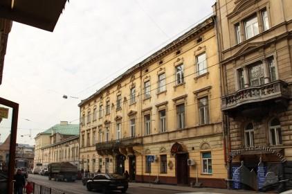Вул. Личаківська, 3. Вигляд будинку з південно-східного боку