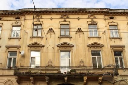 Вул. Личаківська, 3. Фрагмент головного фасаду