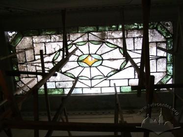 Вул. Левицького, 11а. Світловий ліхтар у сінях