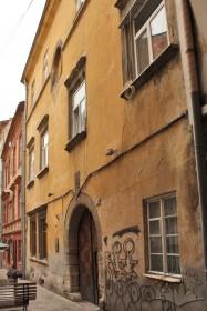 Vul. Virmenska, 35. A part of the principal facade of the building