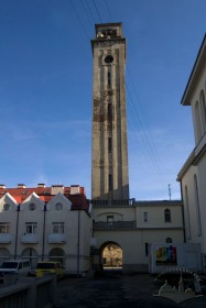Вул. Личаківська, 175. Вид на вежу-дзвіницю