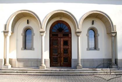 Вул. Личаківська, 175. Фрагмент західного фасаду з головним порталом