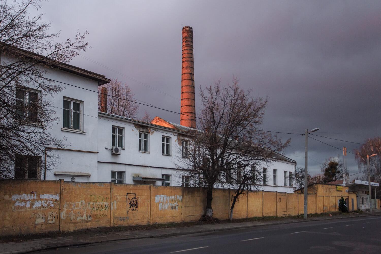 Vul. Khmelnytskoho. Around this place, the Zygmunt Rucker's factory was located in Interwar period/Photo courtesy of Nazarii Parkhomyk, 2015
