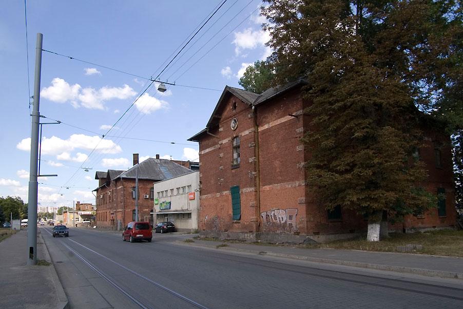 Vul. Promyslova, 52. The latest location of the city slaughterhouse./Photo courtesy of Ihor Zhuk, 2013