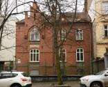 Vul. Konovaltsia, 27 (former 29 Listopada). In 1937 Władysław Stesłowicz lived in this apartment building.