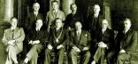 Сенат Львівської політехніки у 1931 році, посередині ректор – Ґабріель Сокольницький.