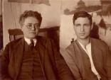 Петро Холодний із сином, 1928