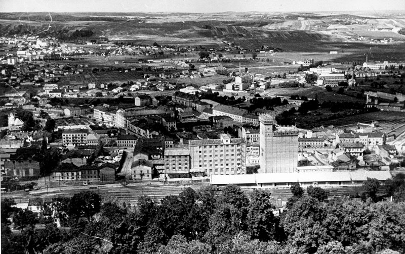 A general view of the Zhovkivske suburb/H.S. Pshenychnyi Central State Cinema, Photo and Phono Archive of Ukraine