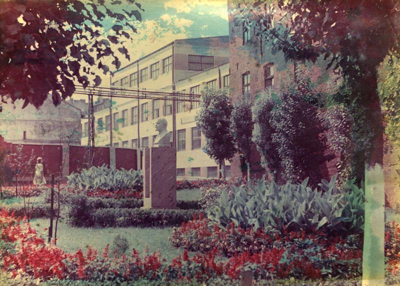 Internal courtyard of the